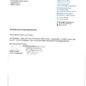 Innung Metall-Handwerke Kreis Bergstraße